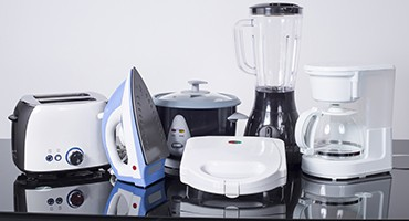 different type of appliances