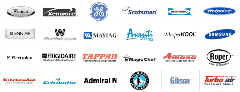 appliance manufacturer logos
